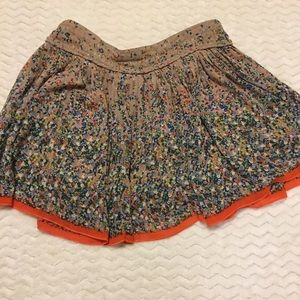 Floral American Eagle Outfitters Skirt